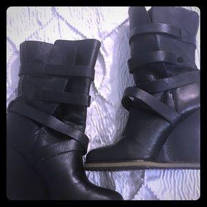 Sam Edelman Leather boots Sz 8.5